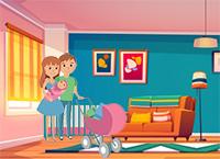 padres apartamento con bebe gestación subrogada
